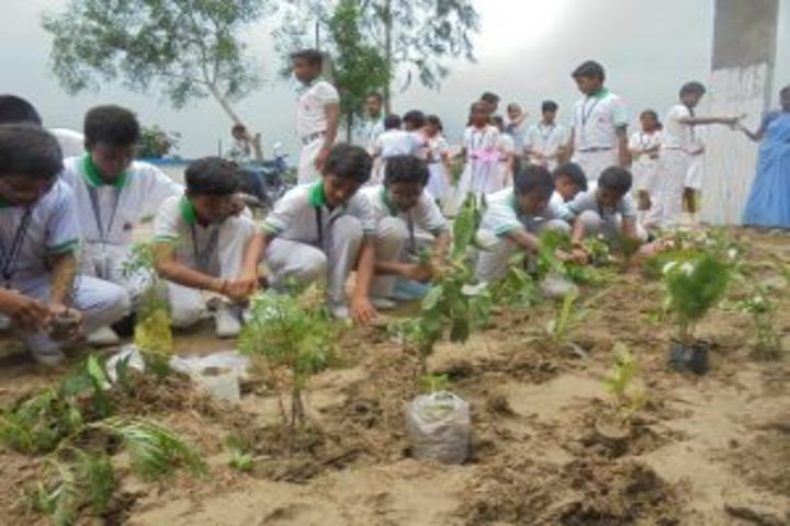 Techno India Group Public School-Tree Plantation