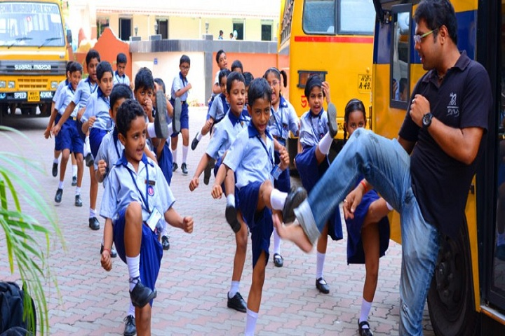 Techno India Group Public School-Self Defence