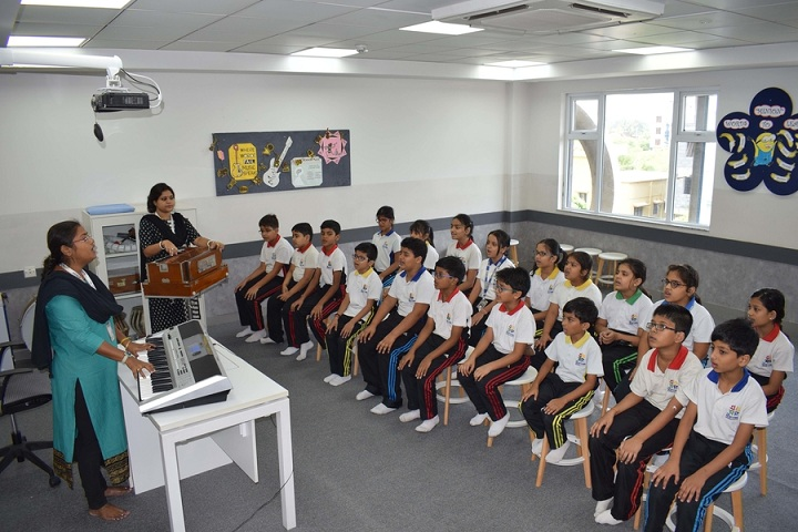 The Newtown School-Music Room