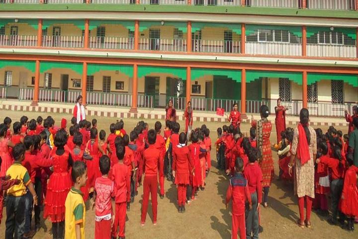 U P Public School-Assembly