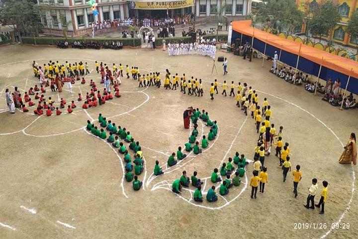 U P Public School-Republic day