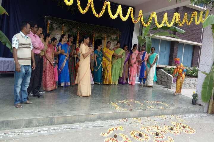 St Anns School-Sankrathi Celebration