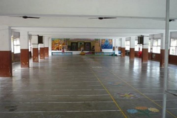 Sri Sathya Sai Gurukulam English Medium School-Prayer Hall