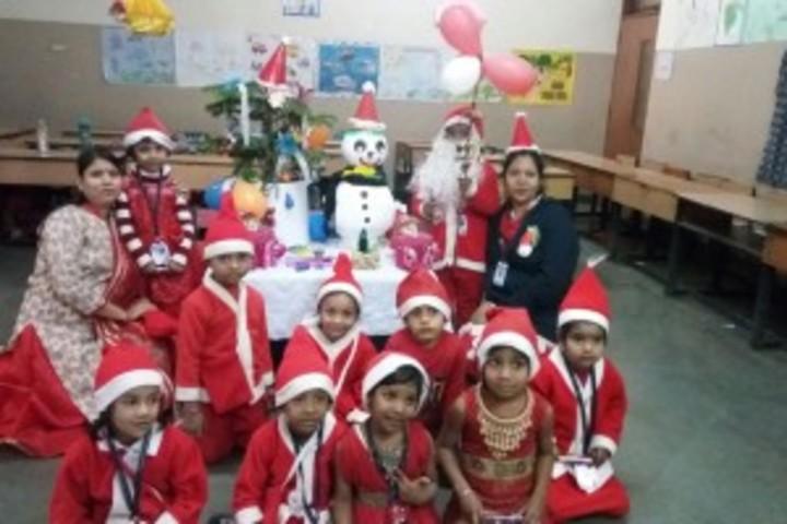 Chhattisgarh Public School--Christmas Celebration