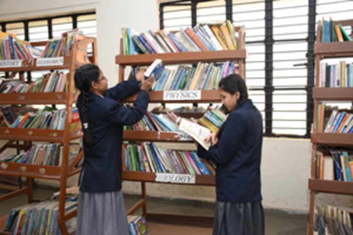 Chhattisgarh Public School-Library