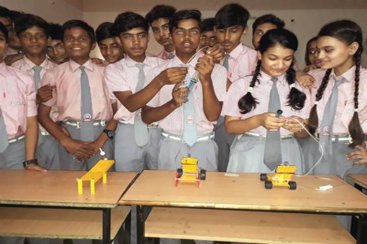Chhattisgarh Public School-Workshop On Robotics