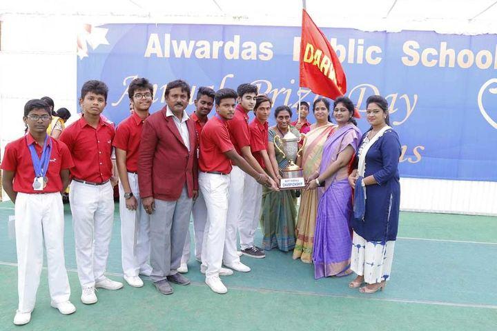 Alwardas Public School-Champions