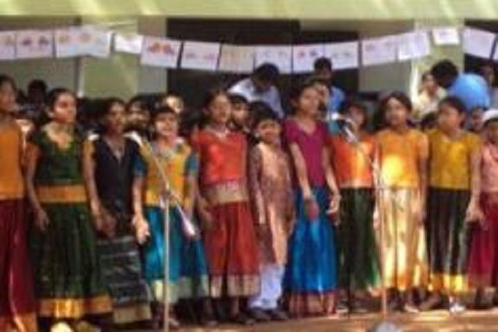 St Anns English Medium School-Singing