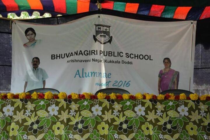 Bhuvanagiri Public School-Alumni Meet
