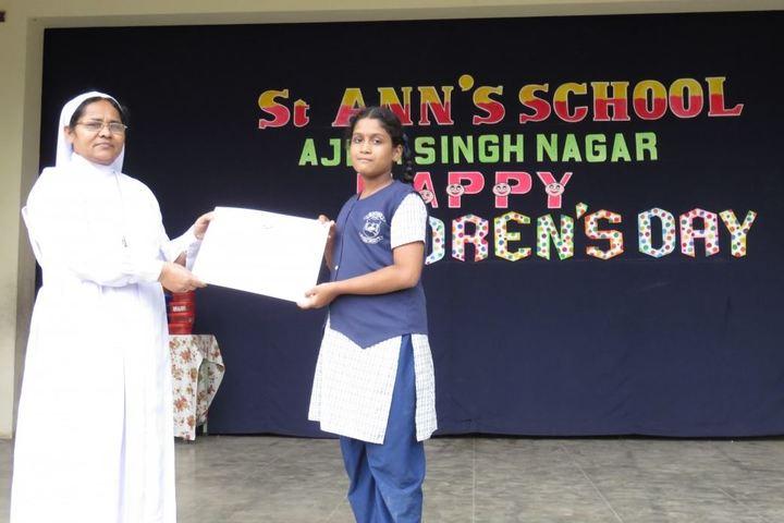 St Anns School-Awards