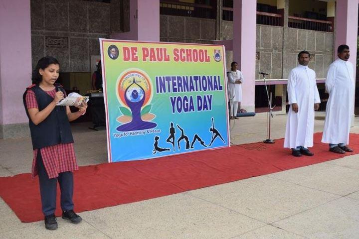 De Paul School-Yoga