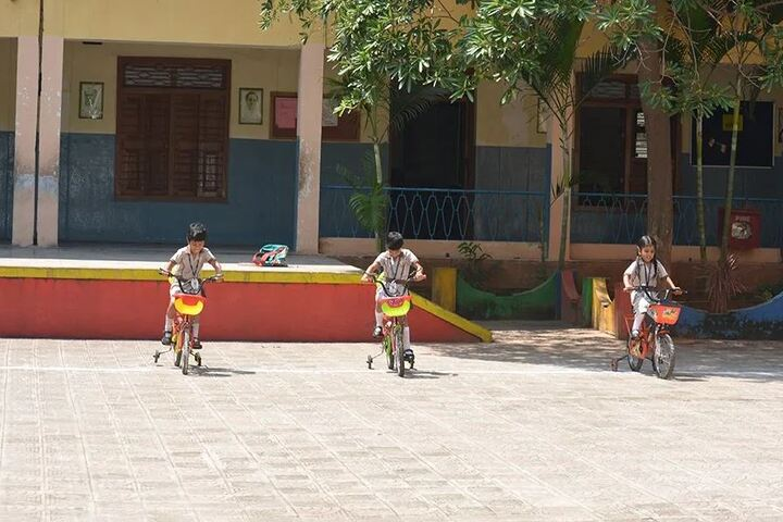 St. Francis School-Tricycle Competition