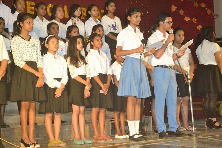 Carmel School-Sining Competition