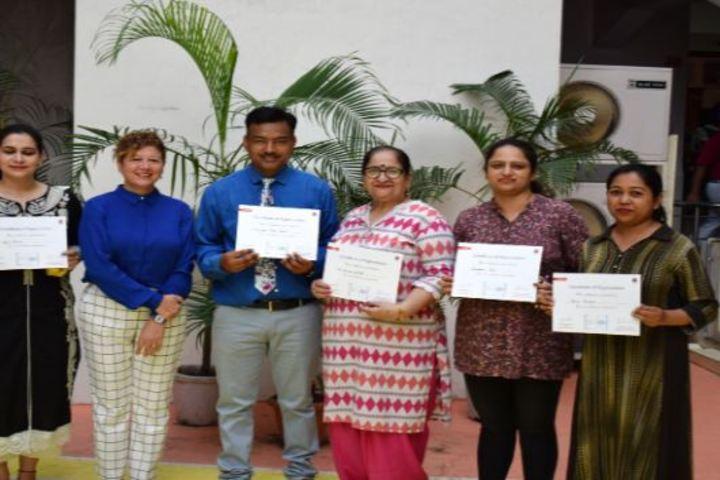 St Xaviers Senior Secondary School-Certifications