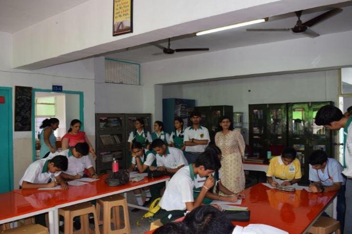 St Xaviers Senior Secondary School-Library
