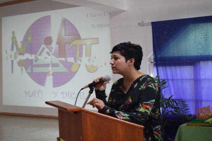 St Xaviers Senior Secondary School-Speaker