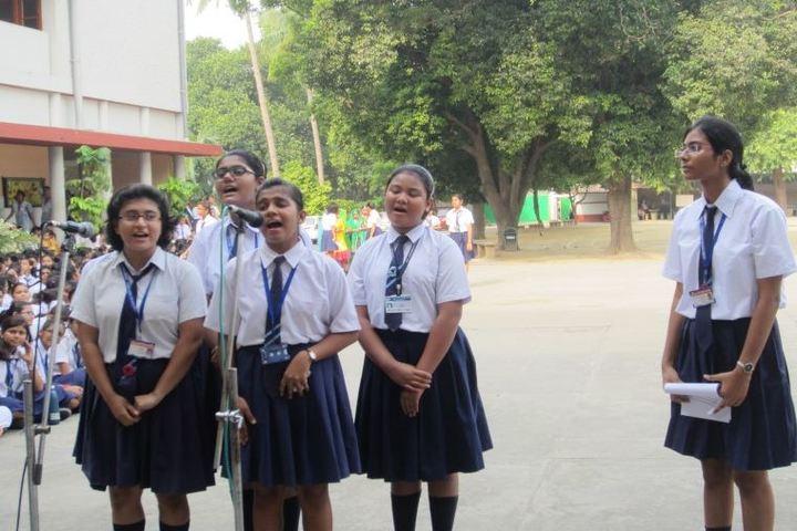 St Josephs Convent High School-Group Singing