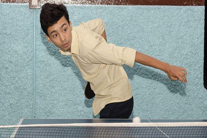 St XavierS High School-Table Tennis