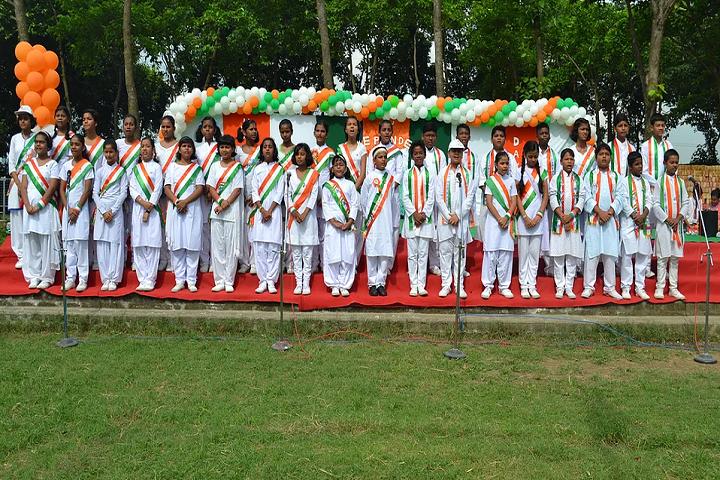 Don Bosco School-Events singing