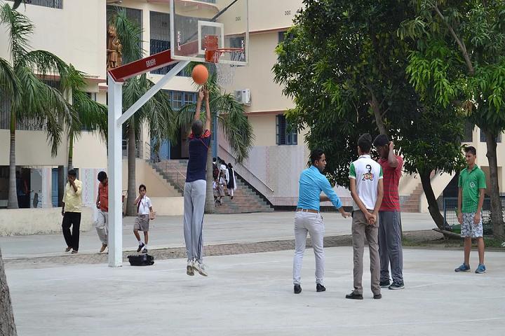Don Bosco School-Sports basketball