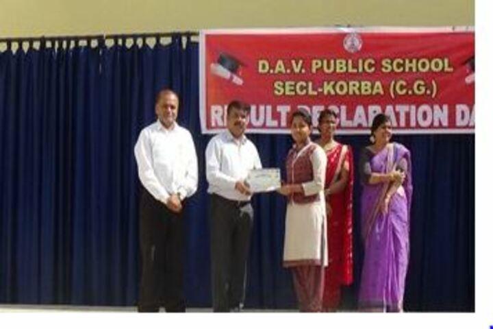 DAV Public School-Certification