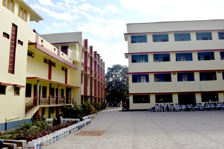 St Francis Academy-Campus-View with playground