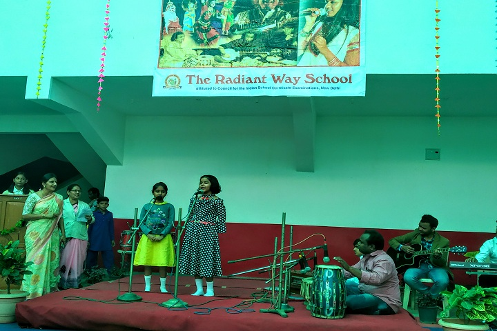 The Radiant Way School-Events music