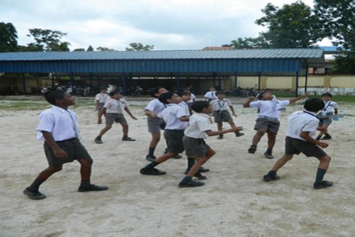 DAV Public School-Playing Area