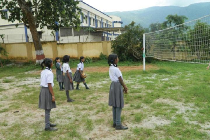DAV Public School-Throw Ball