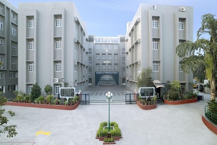 SDA Higher Secondary School-Campus-View