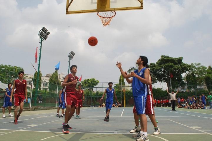 SDA Higher Secondary School-Sports basketball
