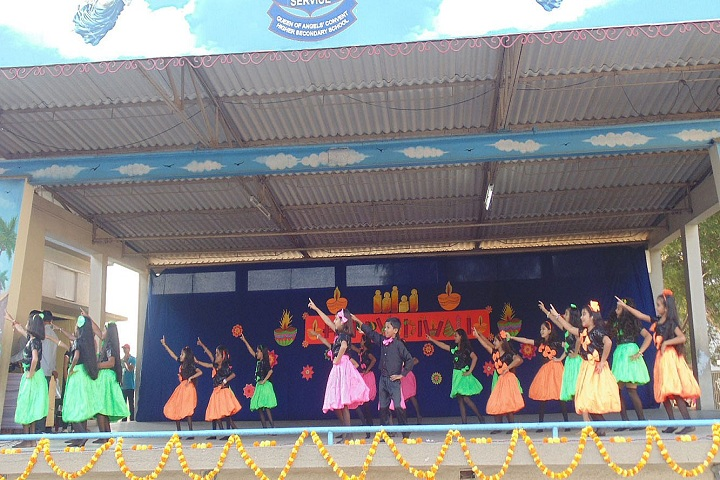 Queen Of Angels Convent Higher Secondary School-Events dance