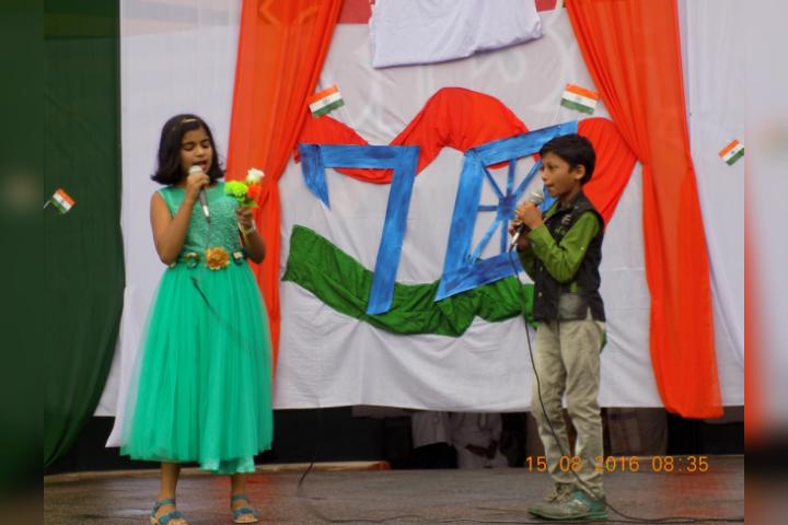 DAV Public School, Kusmunda - Independence Day Celebration