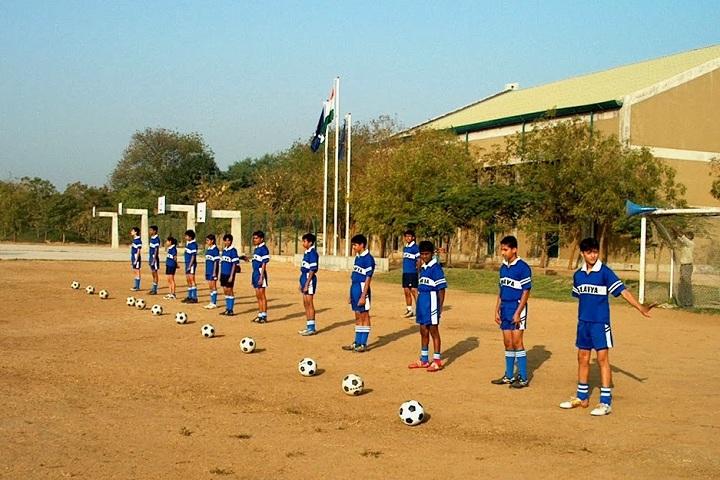 Eklavya School-Sports football