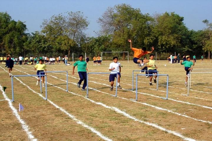 Eklavya School-Sports jump