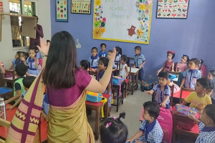 Seventh Day Adventist High School-Classroom with teacher