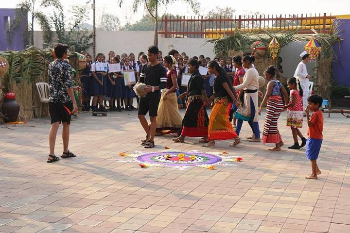 Seventh Day Adventist High School-Events rangoli