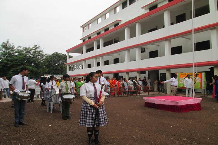 Amarjyoti Saraswati International School-Campus View With Events