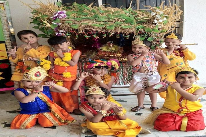 Amarjyoti Saraswati International School-Janmastami Celebration