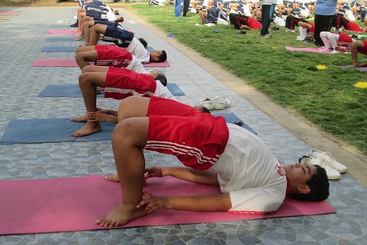 Amarjyoti Saraswati International School-Yoga