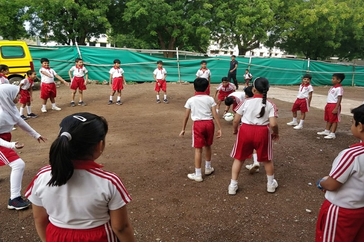 Amarjyoti Saraswati International School-Sports Football