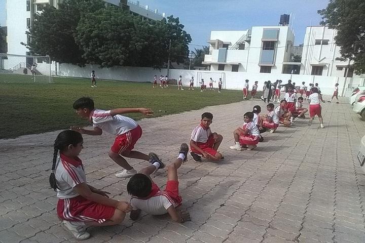 Amarjyoti Saraswati International School-Sports kho kho