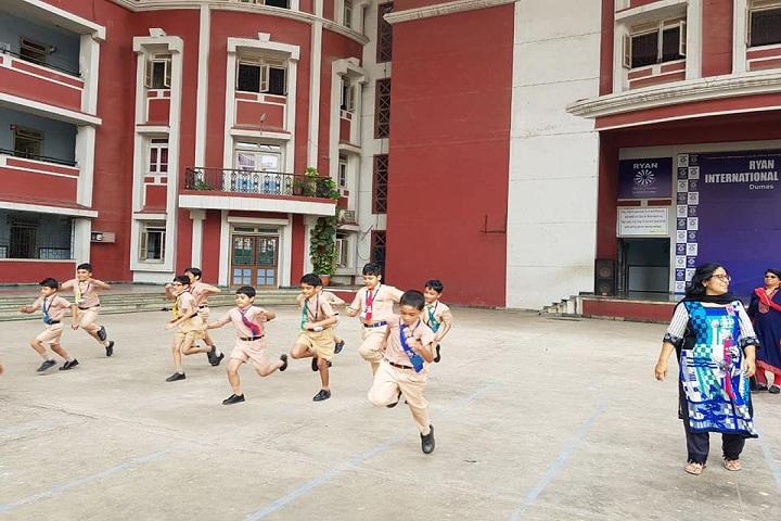 Ryan International School-Campus-View with sports