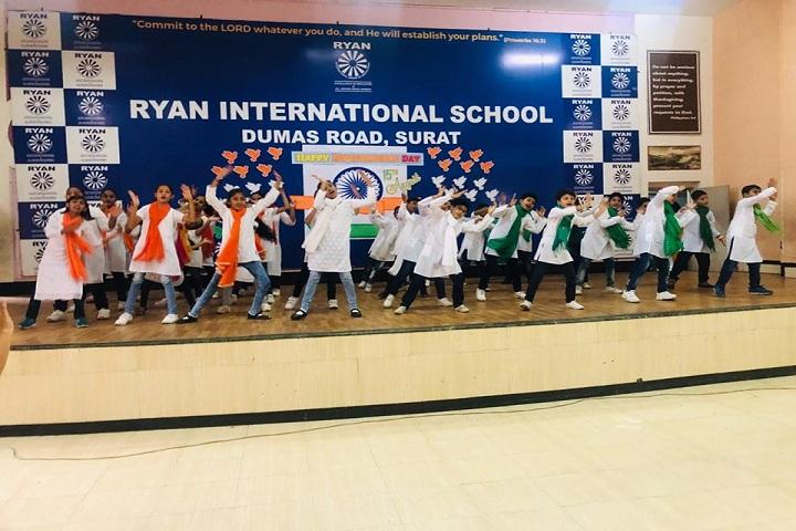 Ryan International School-Events independance day programme
