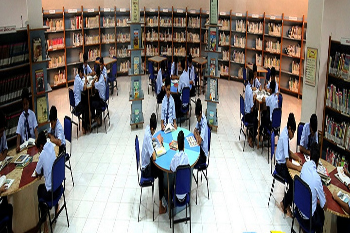 S G V P International School-Library with reading room