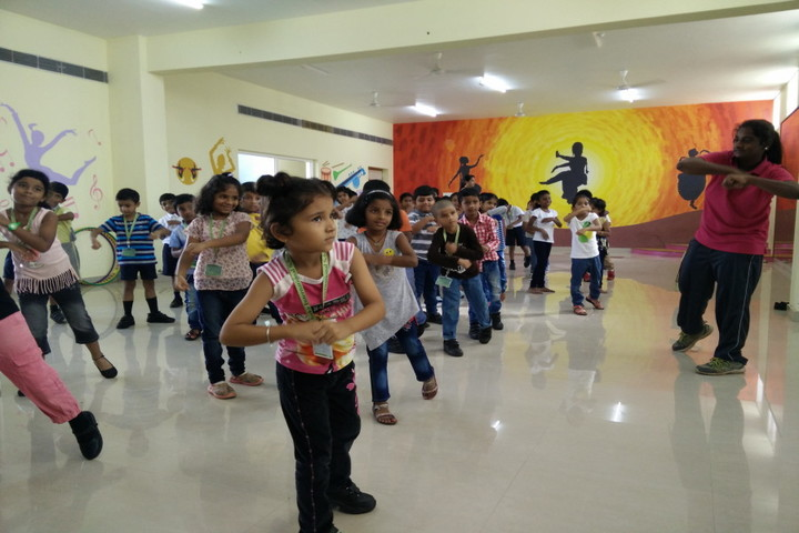 Ithaka Engish Medium School-Dance Room