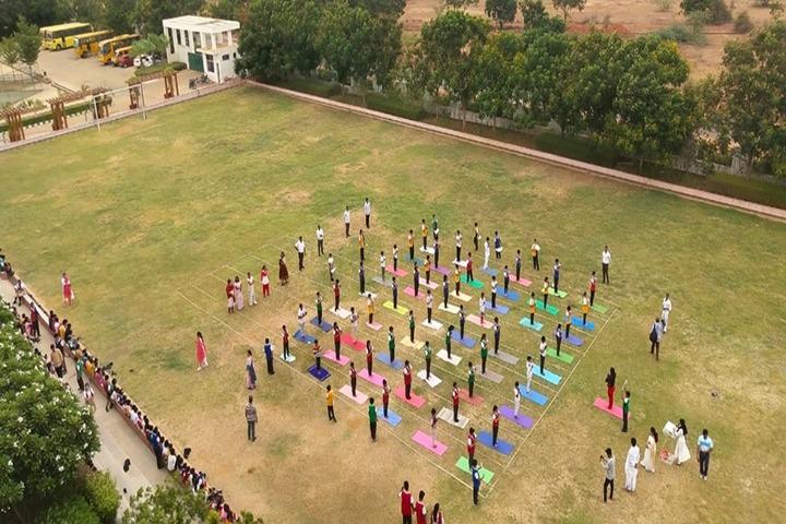 Ithaka Engish Medium School-PlayGround