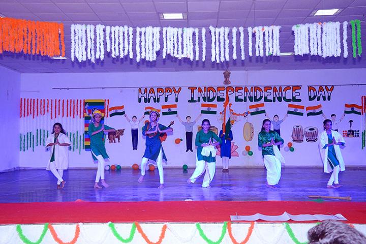 Lalji Mehrotra Lions School-Events independance day