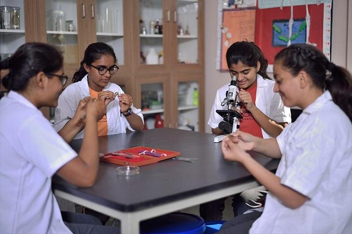 Anand Niketan-Biology Lab