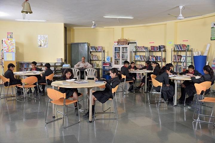 Anand Niketan-Library